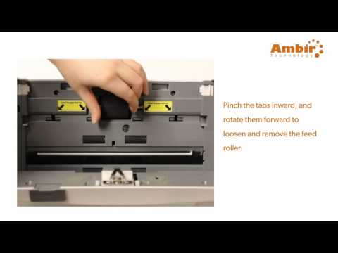 ImageScan Pro 900 series - Feed Roller Replacement - Ambir Technology