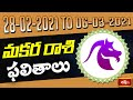 Capricorn Weekly Horoscope By Dr Sankaramanchi Ramakrishna Sastry | 28 Feb 2021 - 06 Mar 2021