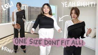 i buy $500 KOREAN *ONE SIZE FIT ALL* clothes... LOL (big b00bie girl haul)