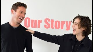 Armie Hammer & Timothee Chalamet | Our Story (bgm volume adjusted)