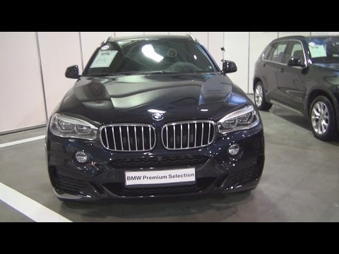 BMW X6 xDrive 40d (2016) Exterior and Interior in 3D