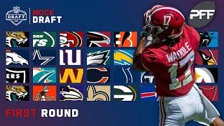 Full 1st Round Mock Draft   Pro Football Focus