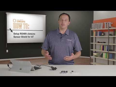 How To Setup ROHM Arduino Sensor Shield for IoT