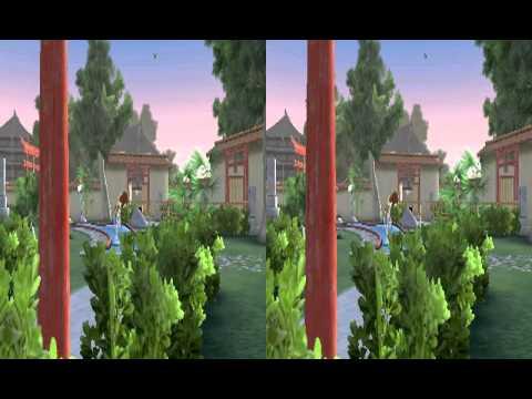 Shin'en: Fun! Fun! Minigolf TOUCH! (Nintendo 3DS) Trailer (3D)