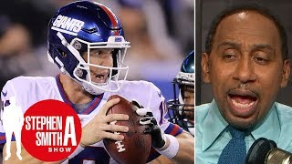 Stephen A.: Eli Manning's 'game is shot,' Giants' season is 'over' | Stephen A. Smith Show