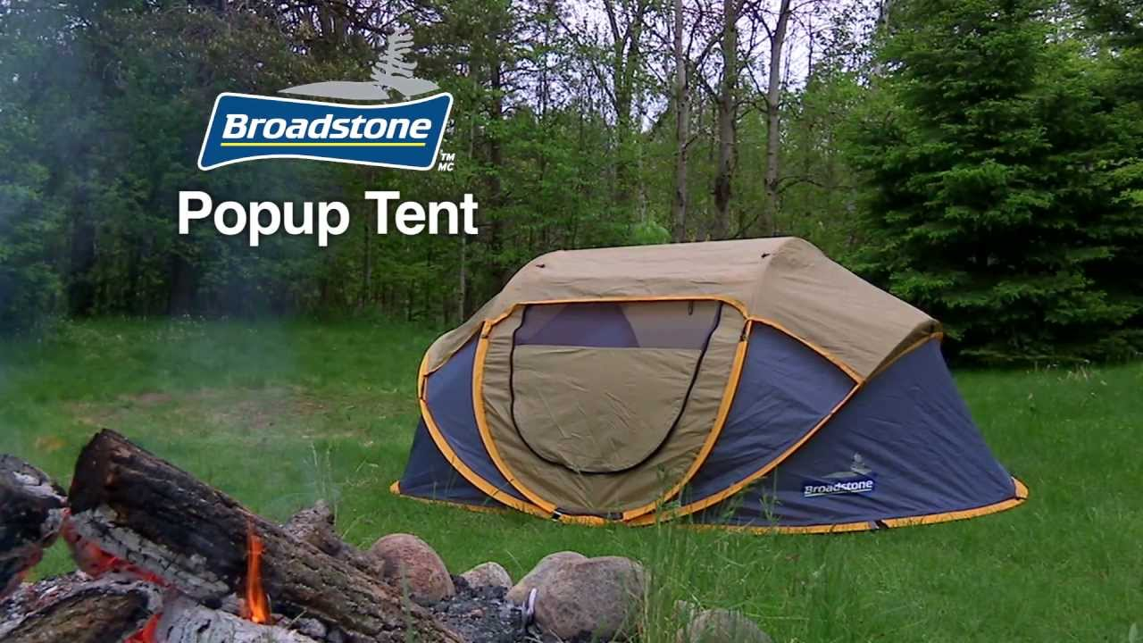 Broadstone Pop Up Tent From Canadian Tire Youtube