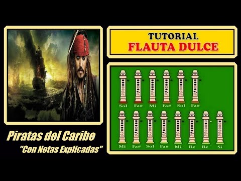 Piratas del Caribe en Flauta