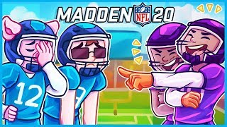 Madden NFL 20 but we can't even win with cheat codes...