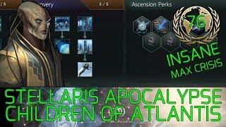 New Tradition :-) Stellaris Apocalypse Roleplay CHILDREN OF ATLANTIS Grand Admiral Insane #76