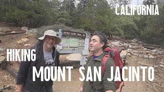Mountain Inspectors hike Devils Slide to Mt. San Jacinto Summit (rain)
