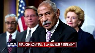 Rep. John Conyers officially announces retirement, read resignation letter