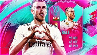 FUT BIRTHDAY BALE 93! THE BEST LA LIGA STRIKER! FIFA 19 ULTIMATE TEAM