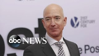 Jeff Bezos accuses National Enquirer of extortion