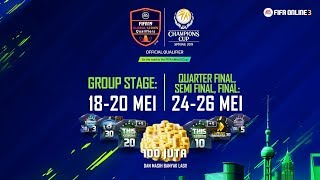 FIFA Online 3 EACC 2019 Group Stage  (Day 1) - YouTube