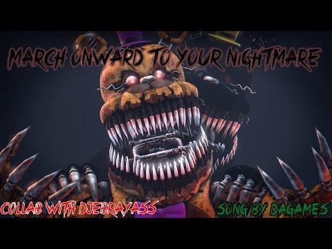 Sfm Fnaf Five Nights At Freddys 4 Song Break My Mind Music Video