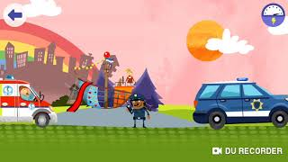 #Police #CarChase | Youtube Kids | Dinosaur Police Car #Dinosaur Kids Games #Submarine Play Fun