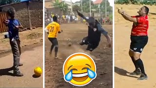 FOOTBALL REWIND 2020 - TOP FUNNIEST FOOTBALL CLIPS OF THE YEAR (TRY NOT TO LAUGH)