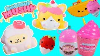 PHÁT HỜN VỚI NHỮNG BẠN SQUISHY SMOOSHY MUSHY MINI - Open Squishy Toys