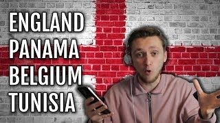 WORLD CUP 2018 GROUP DRAW - LIVE REACTION! | ENGLAND DRAW BELGIUM, PANAMA & TUNISIA IN THEIR GROUP!