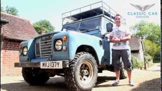 Land Rover Series 3 Overview