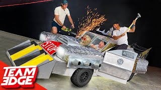 We Armored a Car and Then Destroyed It!