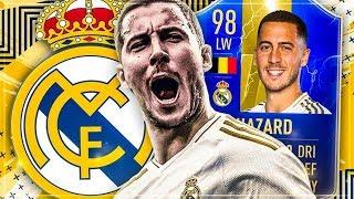 FIFA 19: LEGENDÄR! 98 TOTS HAZARD REAL MADRID Squad Builder Battle vs Esportler..