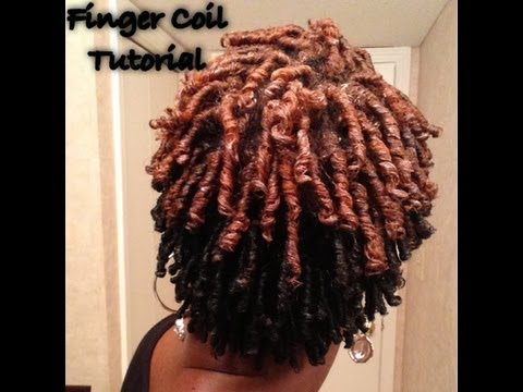 Comb And Finger Coil Twists Tutorial On 4b Twa Natural Hair