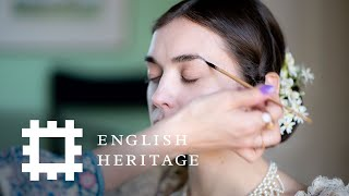 Queen Victoria Makeup Tutorial | History Inspired | Feat. Amber Butchart and Rebecca Butterworth