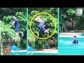 Viral Video: Salman Khan Tries Backflip For The First Time