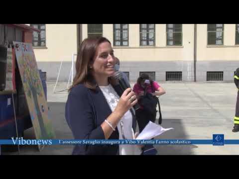 L'assessore Savaglio inaugura a Vibo Valentia l'anno scolastico