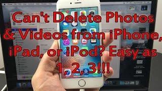 "All iPhones: How to Delete ""Undeletable"" Photos & Videos"