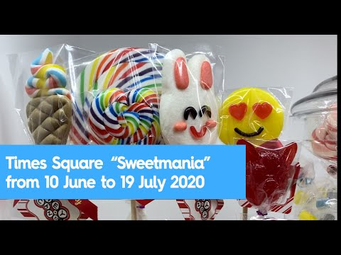 "Times Square presents ""Sweetmania"" featuring Mr Simms, Hey Candy, Jelly Belly"