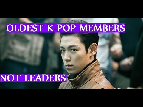 Oldest K-POP Members Who Are Not Leaders