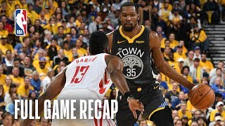 ROCKETS vs WARRIORS | Team Effort Lifts Dubs | Game 2