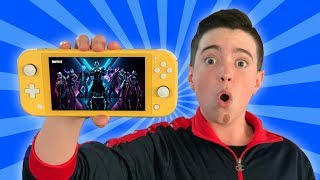 THEY SENT ME THE NEW NINTENDO SWITCH LITE!!
