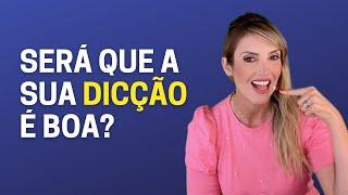 MIX PALESTRAS l 3 testes para você avaliar se sua dicção é boa ou não l Fernanda de Morais