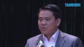 Ông Nguyễn Đức Chung nói công an bảo kê bia vỉa hè