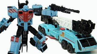 Xe cứu hỏa biến hình robot siêu nhân Robot Transformer Hot Spot