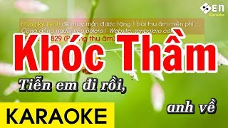Khóc Thầm - Karaoke Beat Chuẩn