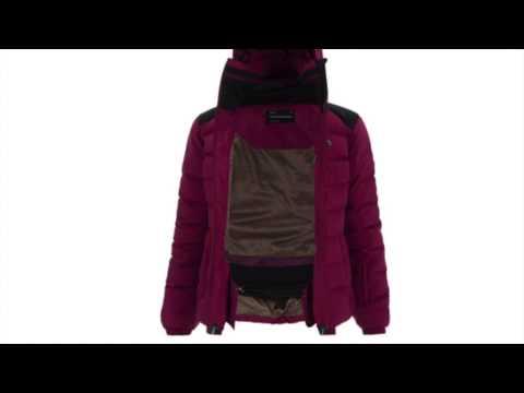 PEAK PERFORMANCE Supreme Megeve Womens Ski Jacket in Dark Orchid