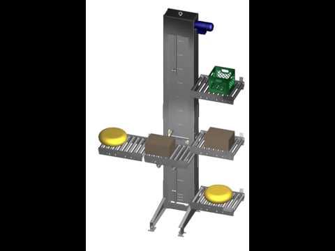 PRORUNNER mk1 multi level vertical conveyor1