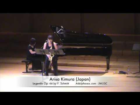 3rd JMLISC Arisa Kimura (Japan) Legende Op. 66 by F. Schmitt