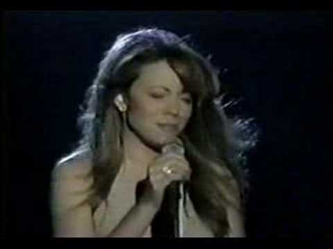 Mariah Carey  - Open Arms MTV Studio 1996