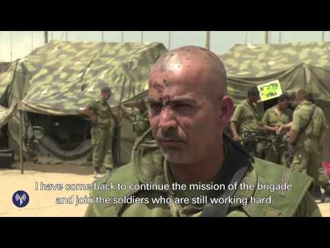 Wounded Golani Commander Returns to Troops - idfnadesk  - kZr6Lb5qwe4 -