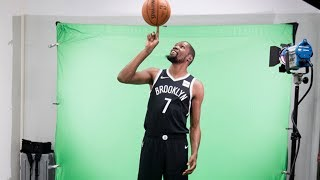 Kevin Durant SUITS UP In FULL Nets Uniform For The First Time & Twitter Reacts
