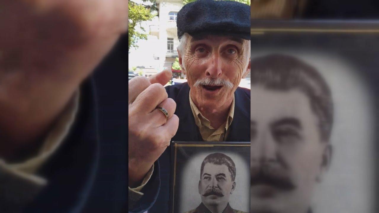 Сталин спас от фашизма — Тбилиси, 9 мая