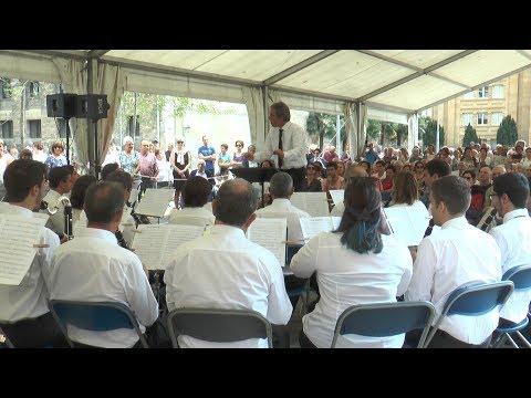 Tolosako Musika Bandaren 190. urteurrena ospatzeko,  banden topaketa egin dute