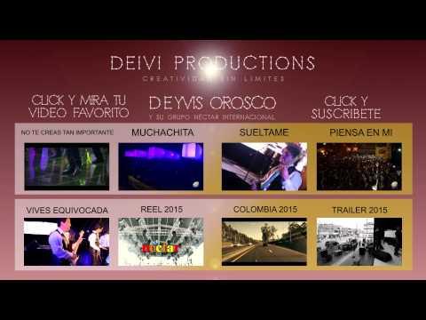 ALBUM 2O15 DEYVIS OROSCO Y SU GRUPO NECTAR INTERNACIONAL