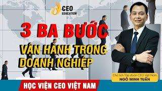 Làm CEO Cần Phải  Biết Quản trị | Ba Bước Căn Bản Để Vận Hành Doanh Nghiệp - Học viện CEO Việt Nam