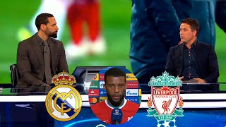 Real Madrid vs Liverpool 3-1 Real Madrid Take Down Liverpool Again🔥Michael Owen & Ferdinand Analysis